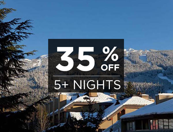35% Off Winter Stays