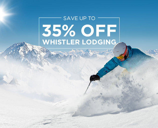 Up to 30% off Winter Lodging