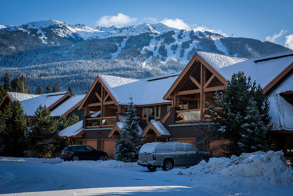 Whistler accommodations lodging 80 exclusive rentals Whistler cabin rentals